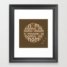 Cookie Framed Art Print