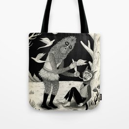 Thievery in the Woods Tote Bag