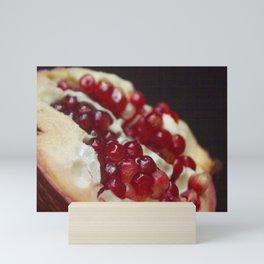 scarlet ruddy Mini Art Print