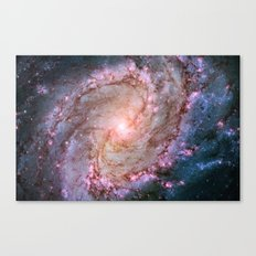 Twins of Superstar Eta Carinae Canvas Print