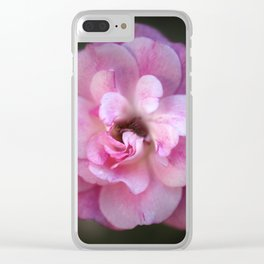 Sweet Rose Clear iPhone Case
