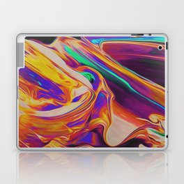 UP IN FLAMES Laptop & iPad Skin