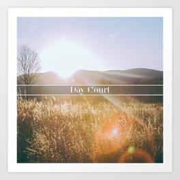 Day Court Art Print
