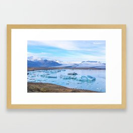 Jökulsárlón Framed Art Print