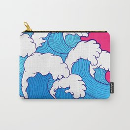 As the waves roll in Carry-All Pouch
