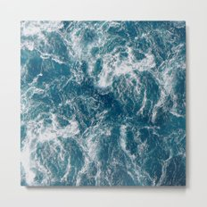 Sea water Metal Print