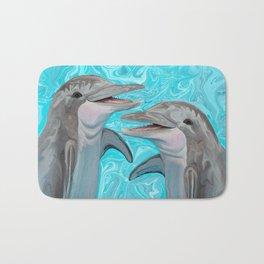 Dolphin Chatter Bath Mat