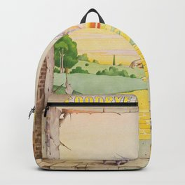 John - Goodbye Yellow Brick Road by Elton Backpack