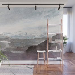 Autumnal landscape Wall Mural