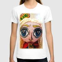 supergirl T-shirts featuring Supergirl by Chiara Venice Art Dolls