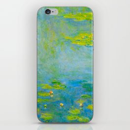 Claude Monet Impressionist Landscape Oil Painting Water Lilies iPhone Skin