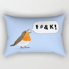 Fuck Robin Rectangular Pillow
