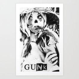 GUNK GIRL #1 Art Print