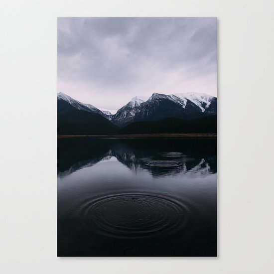 Mountain Reflections II #society6 #buyart Canvas Print