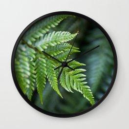 Fern Hollow Wall Clock