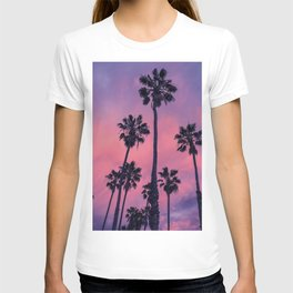 Palm trees and Sunset T-shirt