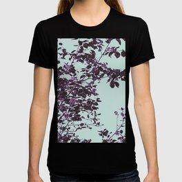 Purple leaves T-shirt