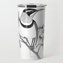 Long Beaked Bird Travel Mug