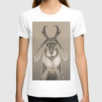 jackalope T-shirts featuring Jackalope by Art of Jeff Hebert