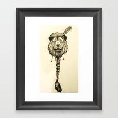 Lionelle Framed Art Print