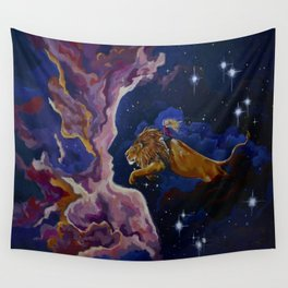 Lily the Lionhearted Wall Tapestry