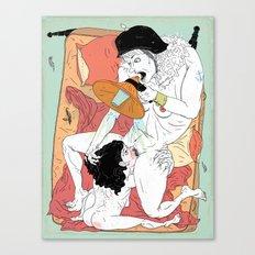 Sex Needs Canvas Print