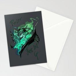 League of Legends- Thresh fanart Stationery Cards