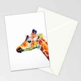 The Graceful - Giraffe Stationery Cards
