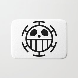 trafalgar law symbol Bath Mat