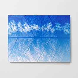 Leafven Metal Print