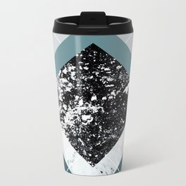 Geometric Textures 8 Metal Travel Mug