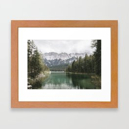 Looks like Canada - landscape photography Framed Art Print