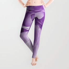 Violet Rose Bouquet For You - Valentine's Day #decor #society6 #homedecor Leggings