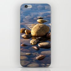 Pebble Stones by the Sea 7738 iPhone & iPod Skin