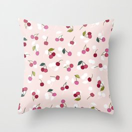 Cherry pie Throw Pillow