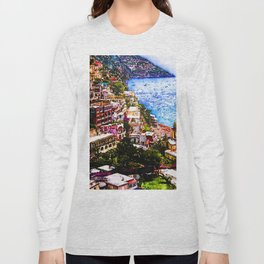 Amalfi, Italy Long Sleeve T-shirt