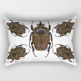 Goliath Flower Beetle Rectangular Pillow