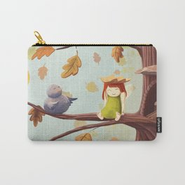 Leafed Carry-All Pouch