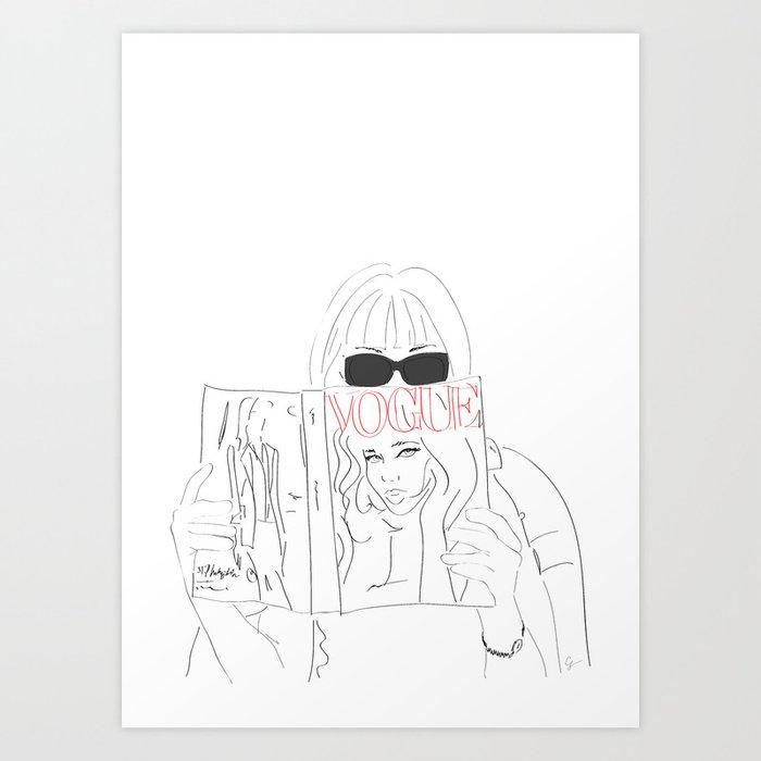 Anna Fashion Editor Kunstdrucke