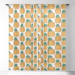 Pumpkin Pattern Sheer Curtain