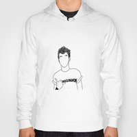 louis tomlinson Hoodies featuring Louis Tomlinson by the peach hideout