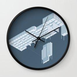 Isometric Council Chambers Wall Clock