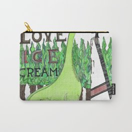Dinosaurs Love Ice Cream Carry-All Pouch