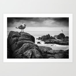 The Lighthouse keeper Art Print