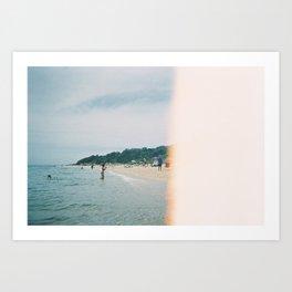 Blackrock Beach 2 Art Print