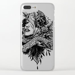 Chica Serpiente Clear iPhone Case