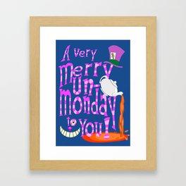 Un-Monday Framed Art Print