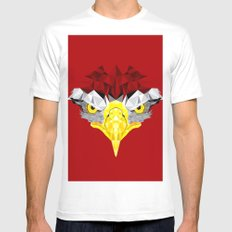 Eagle I White Mens Fitted Tee MEDIUM