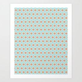 Patricia Pattern Art Print