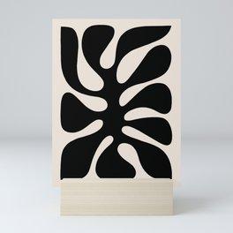 Abstract Monstera leaf 1. #minimal Mini Art Print